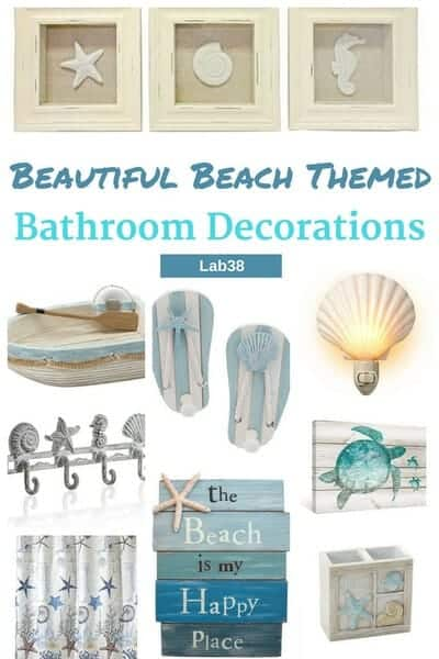 Beautiful Beach Themed Bathroom Decorations 25