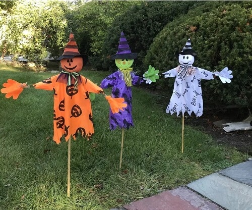 Halloween Garden Stake (Set of 3)
