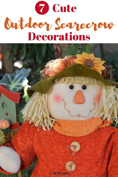 Outdoor Scarecrow Decorations - Best scarecrow decorations for the garden or porch
