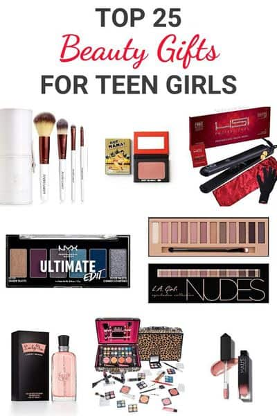 Ultimate Beauty Gift Guide for Teen Girls | The best beauty gifts for teens that they will actually love! #giftguide #beautygifts