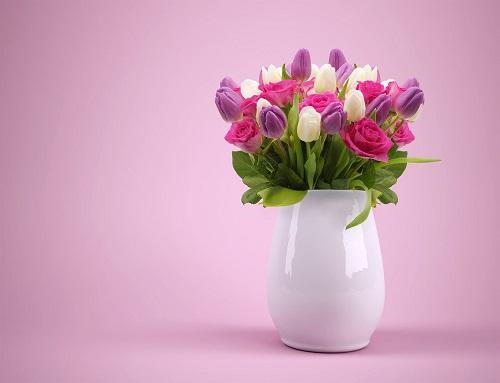 Bouquet of Flowers - Cheap Hostess Gift Ideas