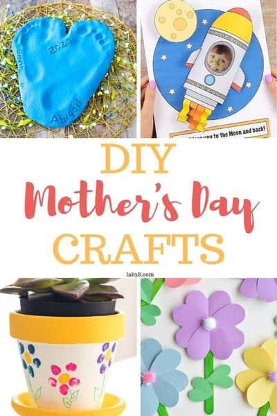 DIY Mother's Day Crafts - Fun and Easy Craft Ideas for Mother's Day