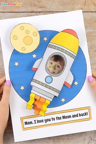 Rocket Mothers Day Craft